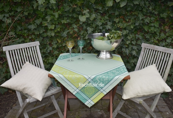 Edles Grün! – Tischdecke Alsace