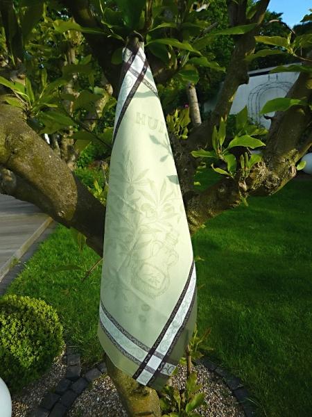 Geschirrtuch Jacquard Baumwolle 50x70 cm Menton vert