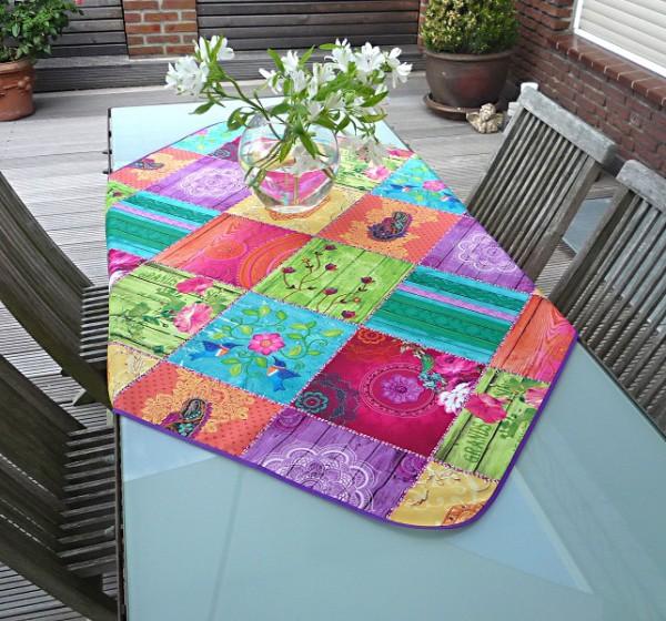 Tischdecke Provence 120x120 cm multicolor aus Frankreich