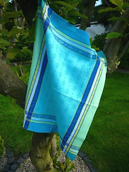 Geschirrtuch Jacquard Baumwolle 50x70 cm Mercier turquoise