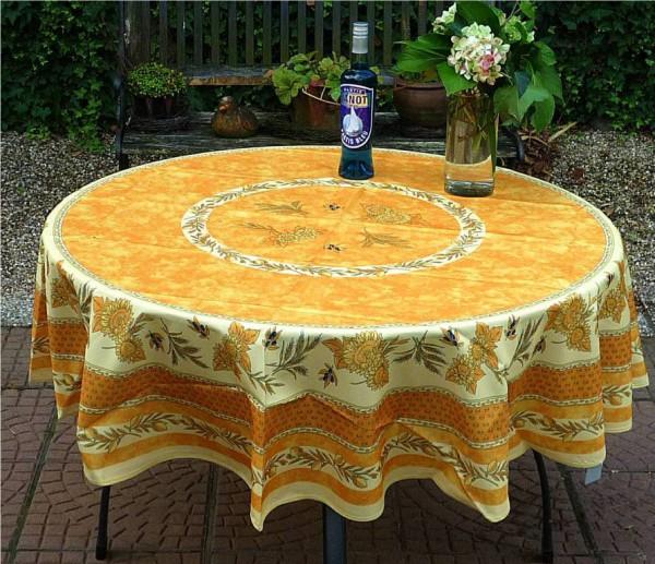 Provence par Excellence – Traumhafte Tischdecke mit Sonnenblumen